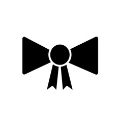 bow award icon sign o vector image