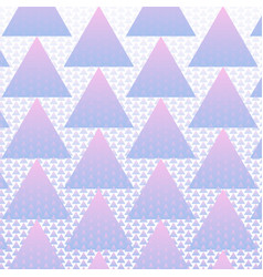 colorful triangles pattern background vector image
