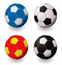 football variation vector image