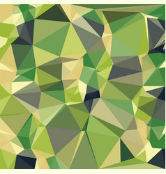 forest sea green triangular low poly mosaic vector image
