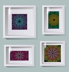 Frames in different sizes vector