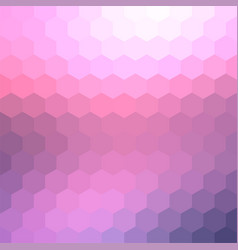 Pastel pale pink mosaic backdrop for banner vector