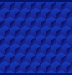 seamless geometric 3d pattern hexagon pattern vector image