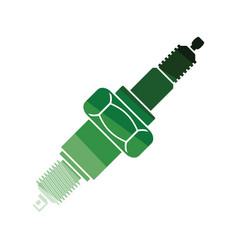 spark plug icon vector image