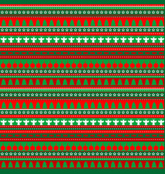 Wrapping paper seamless pattern for christmas vector