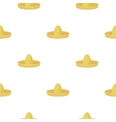 Sombrero icon in cartoon style isolated on white vector image vector image
