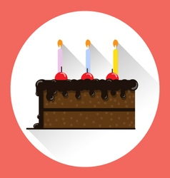 CAKE HBD vector image
