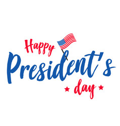 Happy presidents day background or banner graphic vector
