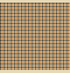 houndstooth fabric vector image