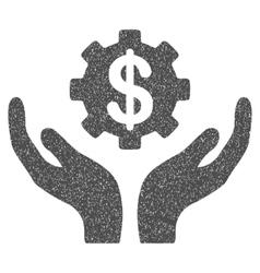 Maintenance Price Grainy Texture Icon vector