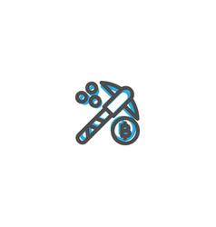 mining icon line design e commerce icon vector image