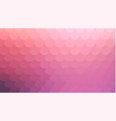 Pastel pink mosaic backdrop for banner design vector