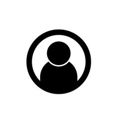 profile icon user symbol vector image