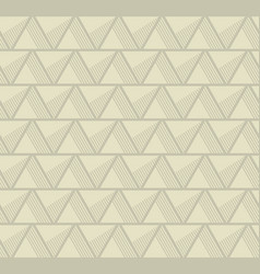simple 3d abstract geometry line motif vector image