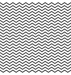 Seamless monochrome geometric triangular pattern vector image vector image