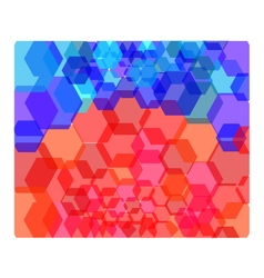 Abstract Modern Digital Effect background vector image vector image