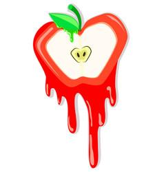 Apple meltdown vector