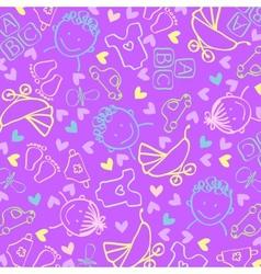 Childrens background vector