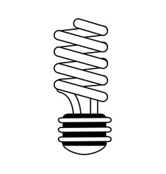 energy saving lightbulb eco friendly related icon vector image