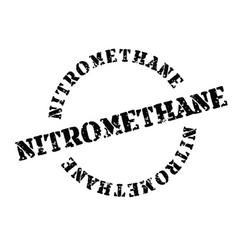 Nitromethane stamp on white vector