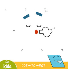 numbers game education game for children vector image