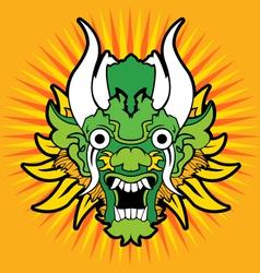 Oriental dragon vector