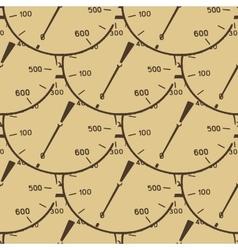 Pattern of a pressure meter gauge vector image