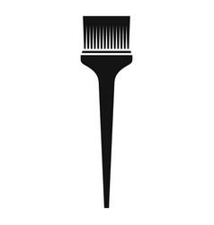 Salon brush hair dye icon simple style vector