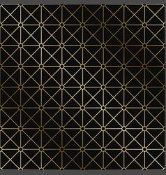 stylish art deco geometric pattern vector image