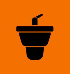 bidet icon vector image vector image
