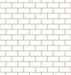 white seamless brick wall vector image vector image