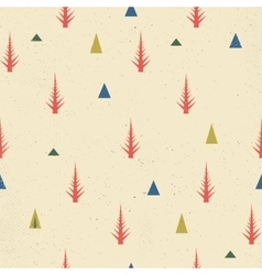 Seamless pattern new year christmas concept vector image vector image