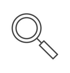 search line icon vector image