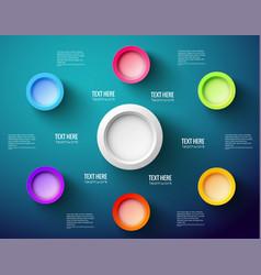 Business infographic creative design vector