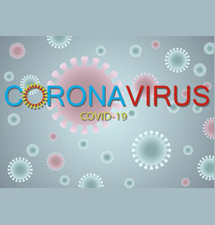 Coronavirus icon 2019-ncov novel isolated sign vector