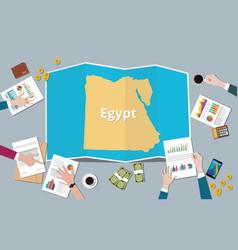 Egypt mesir country growth nation team discuss vector