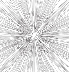 Engraving star background Monochrome star burst vector image