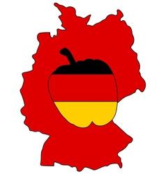 German capsicum vector
