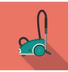 Vacuum cleaner flat vector