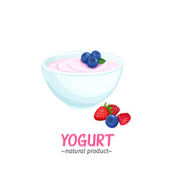 yogurt icon vector image