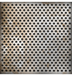 texture of rusty metal background vector image