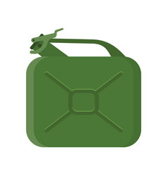 bio fuel canister icon metal jerrycan vector image