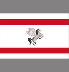 Flag of tuscany italy vector