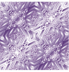 geometric light violet shiny seamless vector image