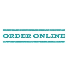 Order Online Watermark Stamp vector