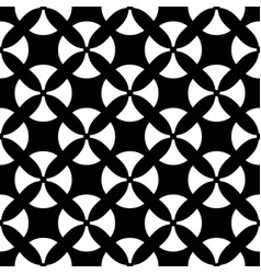 Seamless pattern black white texture vector