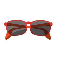 Stylish sunglasses icon image vector