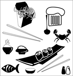 Food icon vector image vector image