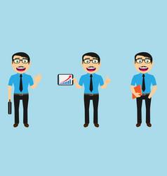 business man set no jacket v1a vector image