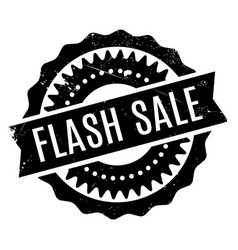 Flash sale rubber stamp vector